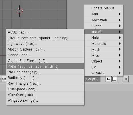 Blender, python : to import a file in AI format